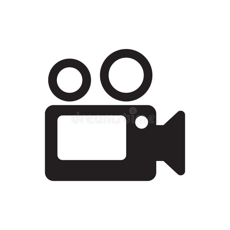 Kamera Wideo ikony wektor ilustracji