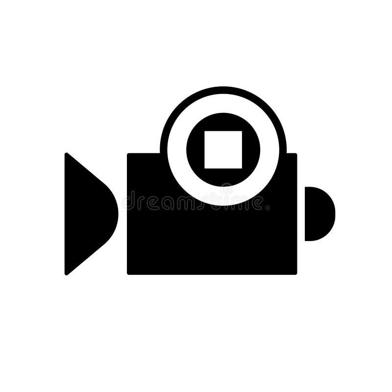 Kamera wideo przerwa ilustracja wektor