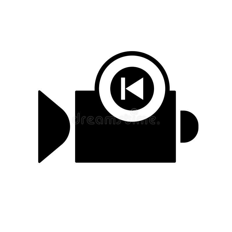 Kamera wideo rewa ilustracji