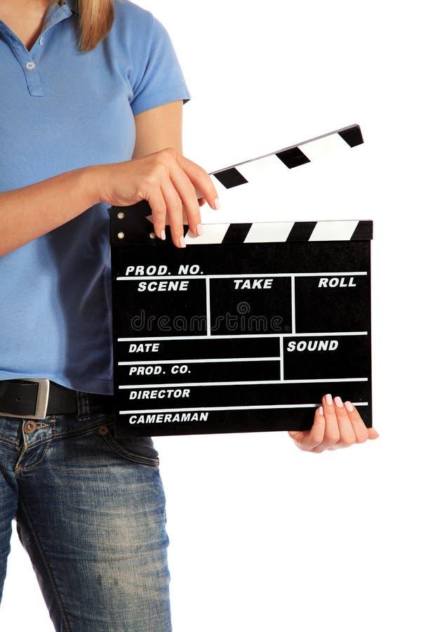 Kamerabediener lizenzfreies stockfoto