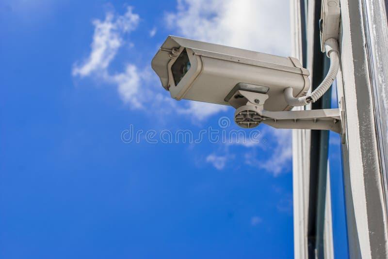 kameracctv-säkerhet royaltyfri foto