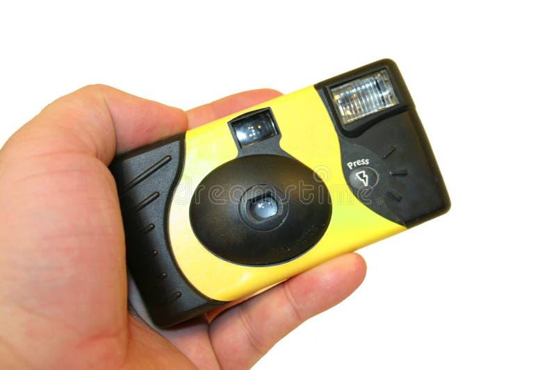 kameraengångsholding arkivfoto