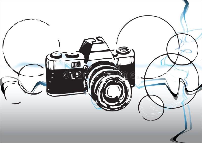 kamerafoto fortfarande vektor illustrationer