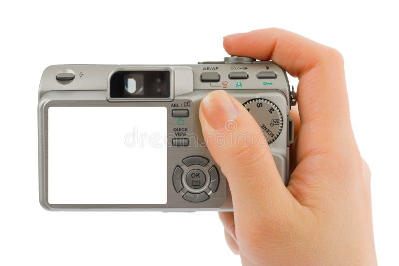 kamerahandfoto fotografering för bildbyråer