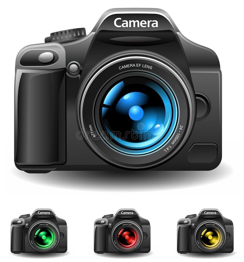 Kameraikone vektor abbildung