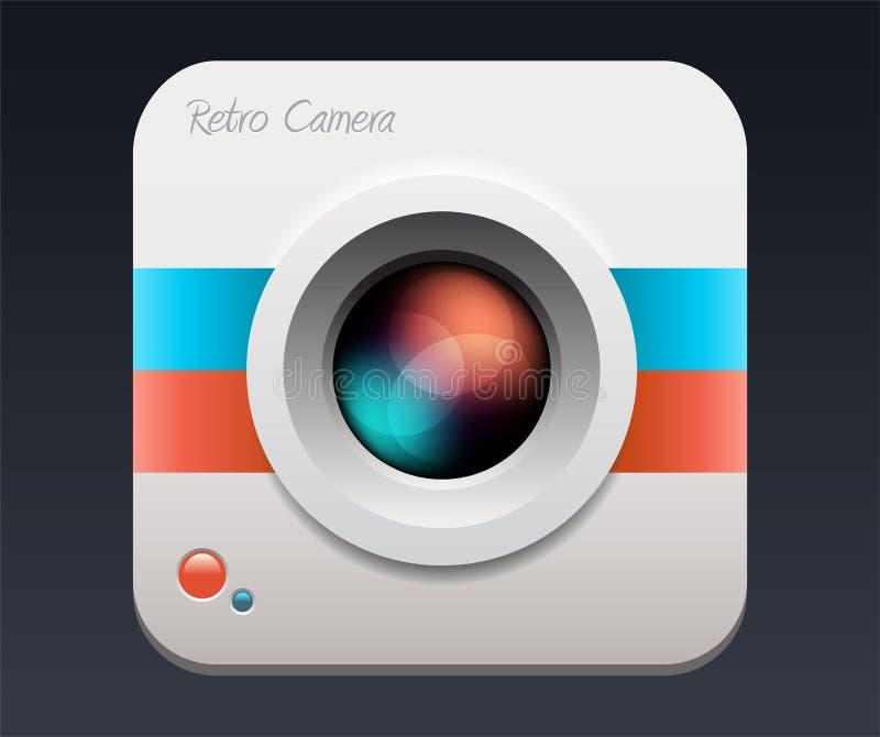 Kameraikone Objektiv vektor abbildung