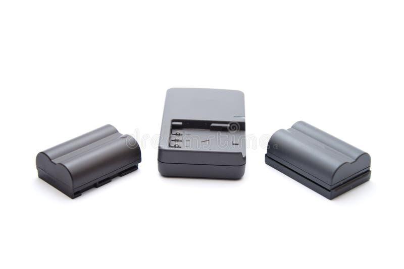 Kamerakörperverletzungsakkumulator mit Vorwurfs-Gerät stockbild