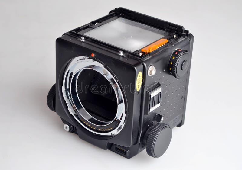 Kamerakroppen royaltyfri fotografi