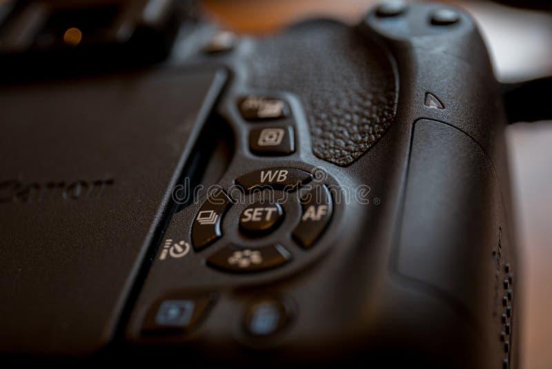 Kameramakro stockbild