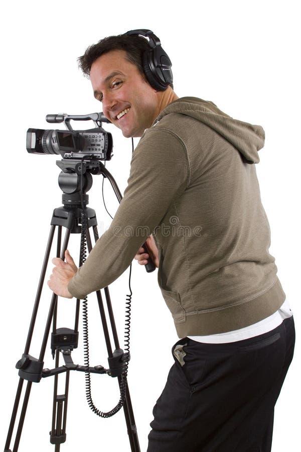 Kameraman arkivfoton