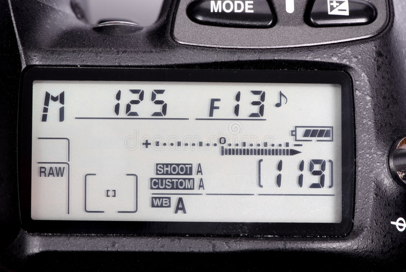 Kamerameßinstrument lizenzfreie stockfotografie