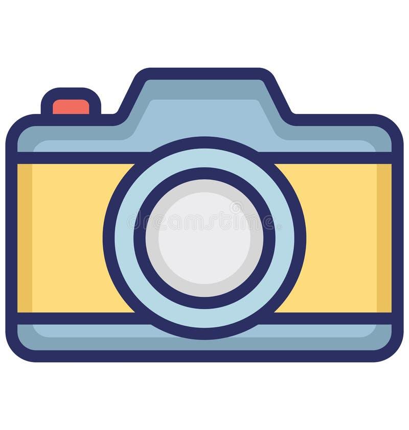 Kameran isolerade vektorsymbolen som kan lätt ändra eller redigera kameran isolerade vektorsymbolen, som kan lätt ändra eller red vektor illustrationer