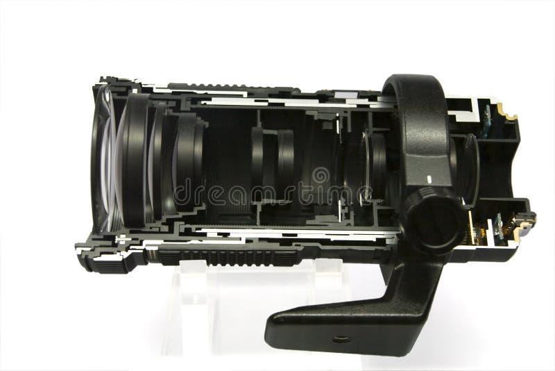 Kameraobjektiv lizenzfreies stockbild