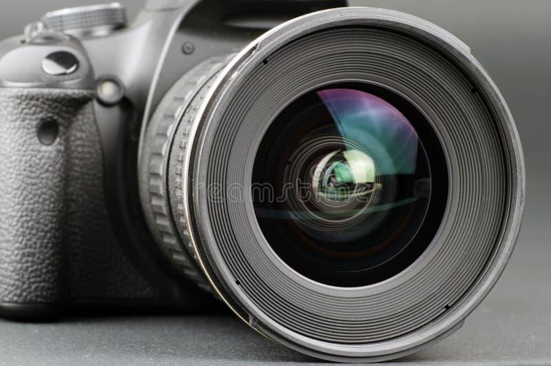 Kameraobjektiv und Karosserie stockfotos
