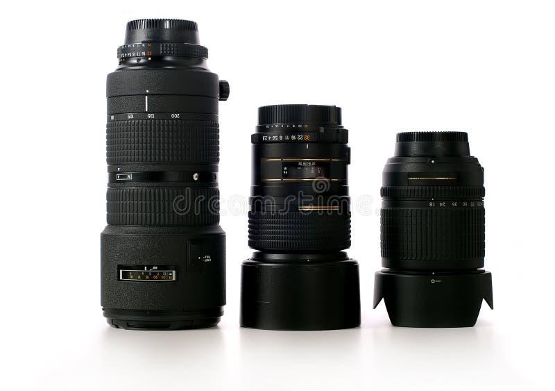 Kameraobjektive stockfoto
