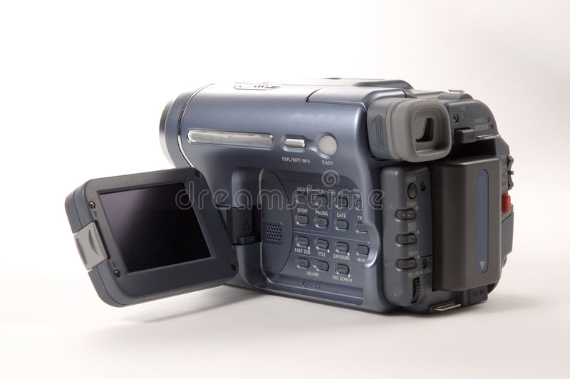 Download Kameraportablevideo arkivfoto. Bild av palm, lins, film - 286234