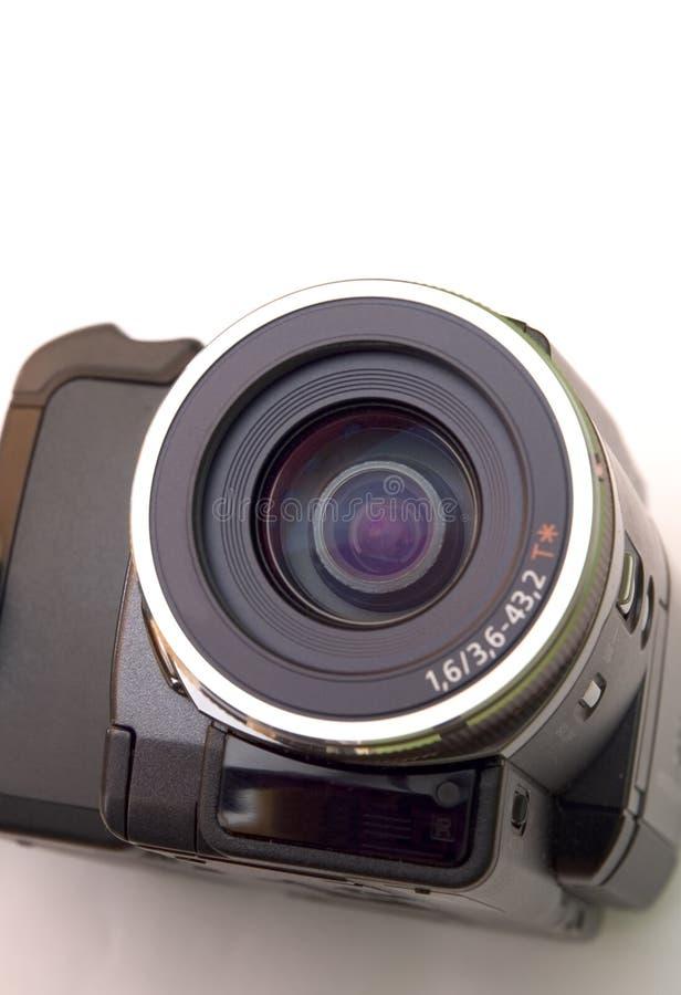 Kamerarecorderobjektiv stockfotos