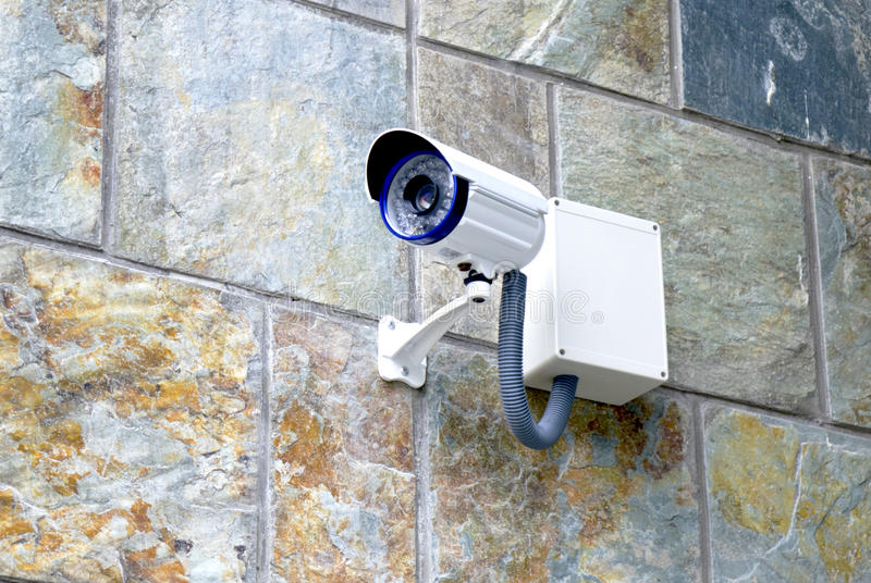 kamerasäkerhet royaltyfria foton