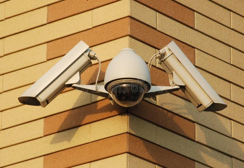 kamerasäkerhetsvideo royaltyfri foto