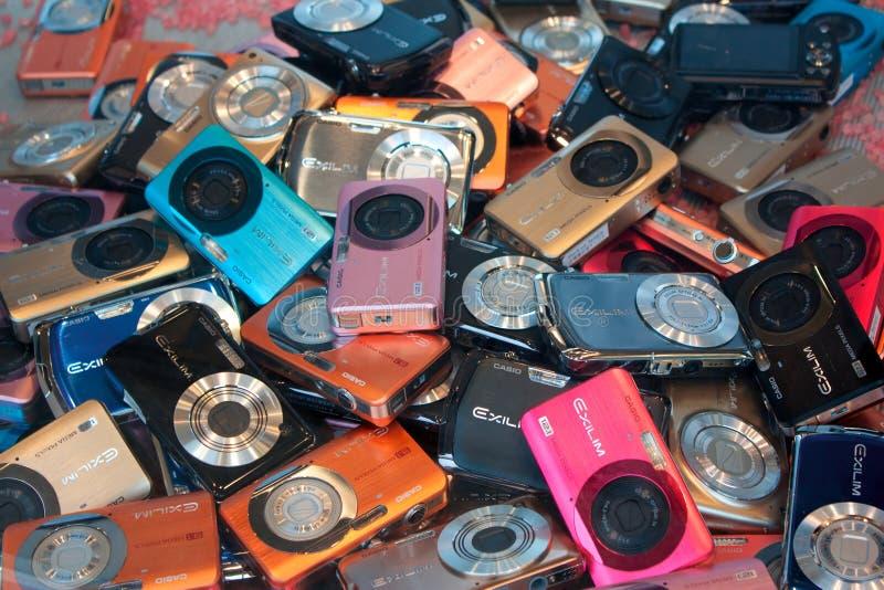 Kameras lizenzfreie stockbilder