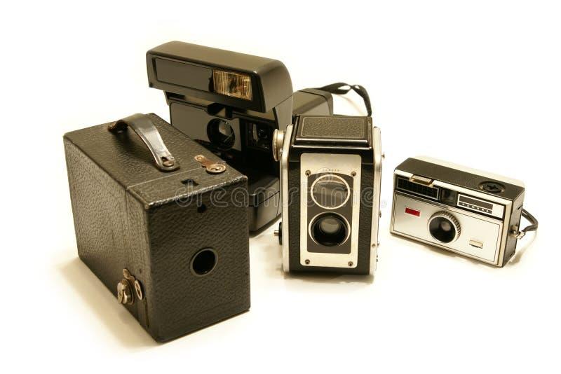 kamerasamlingstappning arkivbilder