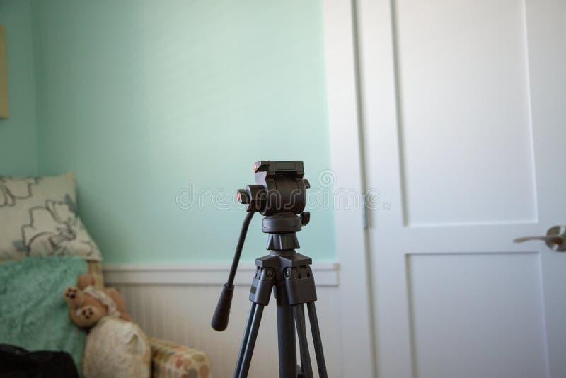 Kamerastativinre royaltyfria foton