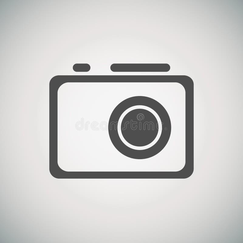 Kamerasymbol royaltyfri illustrationer