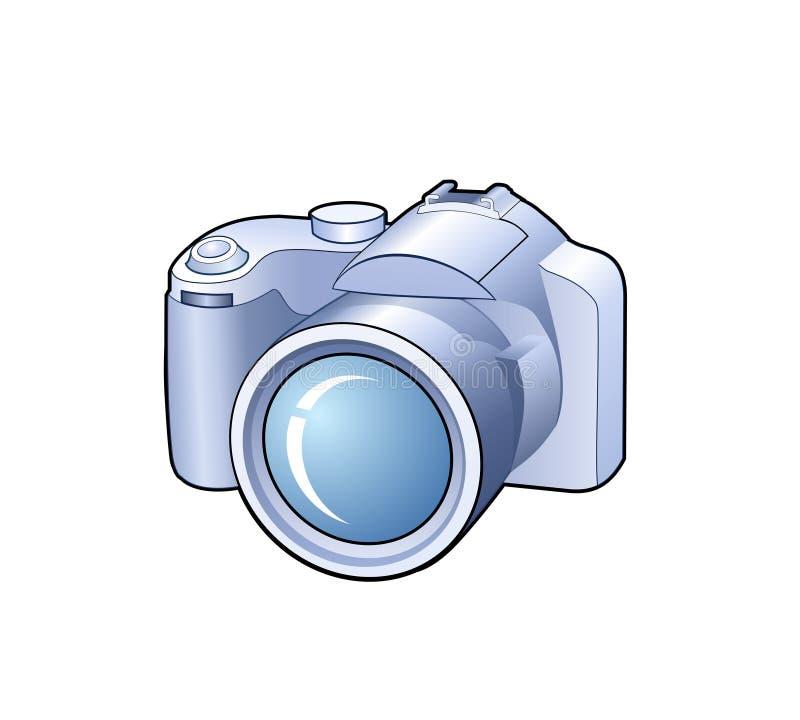 kamerasymbol vektor illustrationer