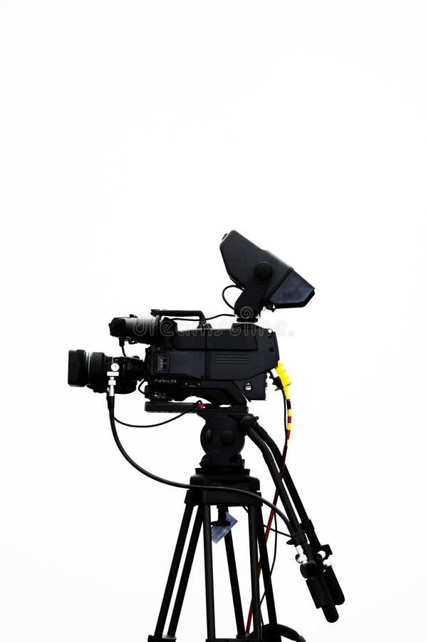 kameratelevision royaltyfria bilder