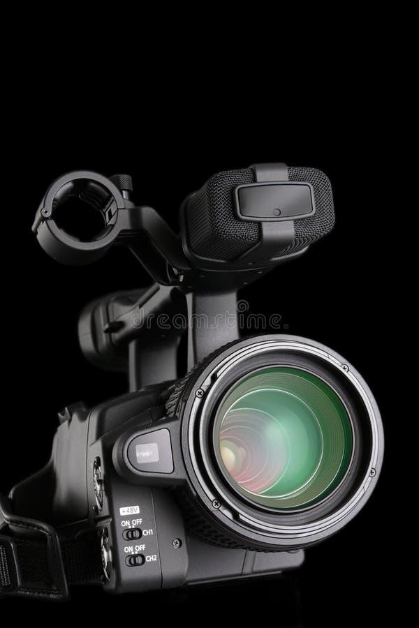 kameravideo royaltyfri fotografi