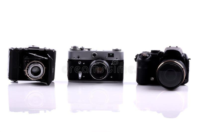kameror royaltyfri bild