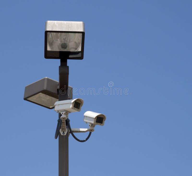 kameror tände polbevakning royaltyfri foto