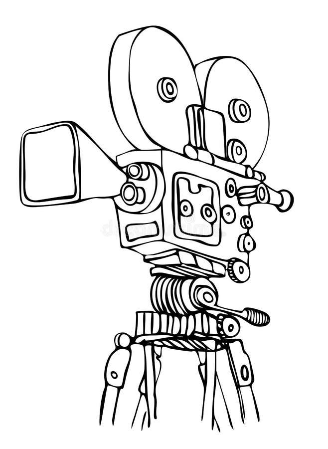 kamery cine wektor ilustracja wektor