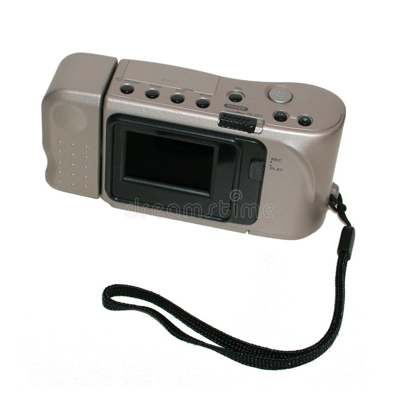 kamery cyfrowej kieszeń obraz stock