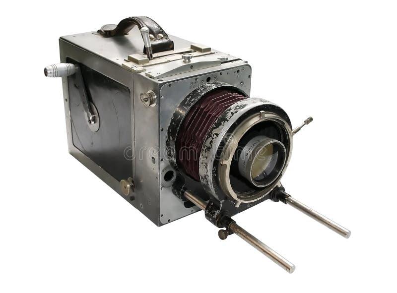 kamery debri film stary zdjęcie stock