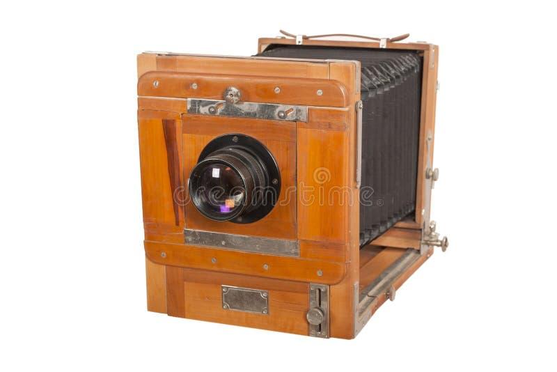 kamery drewniany stary zdjęcie royalty free