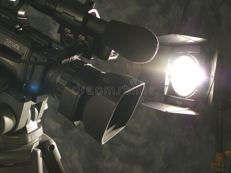 kamery działania światła zdjęcie royalty free
