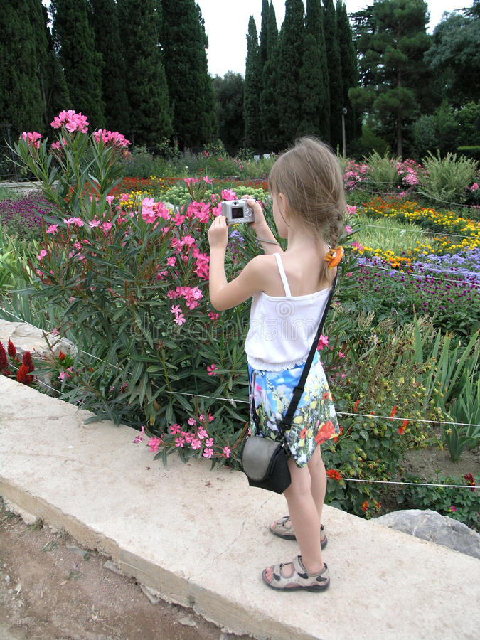 kamery dziecka strzelanina mała obrazy royalty free