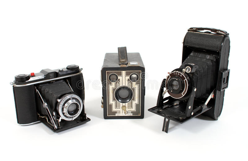 kamery filmują rocznika obraz royalty free