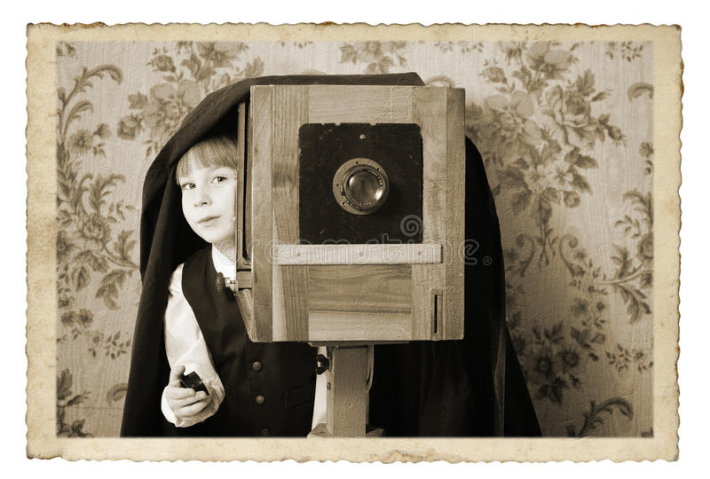 kamery fotografa retro rocznik obrazy stock