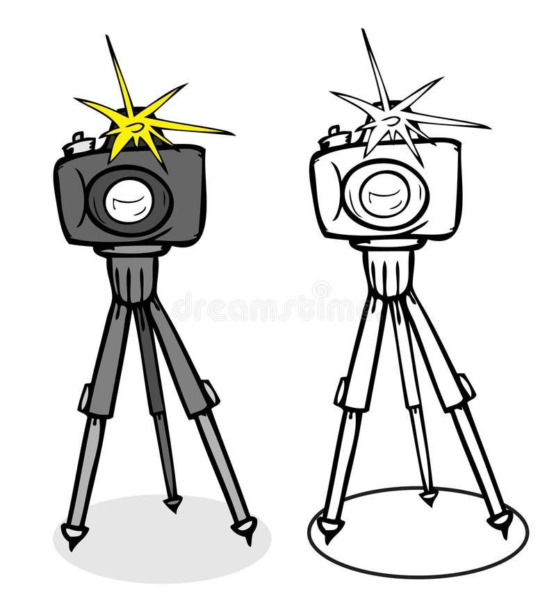 kamery fotografia ilustracja wektor