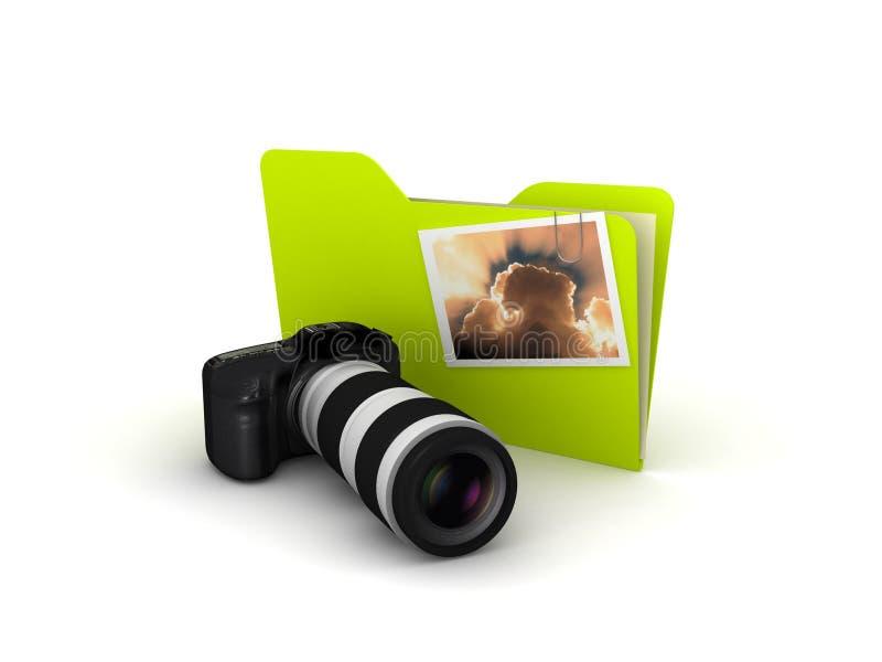 kamery fotografii obrazek ilustracja wektor