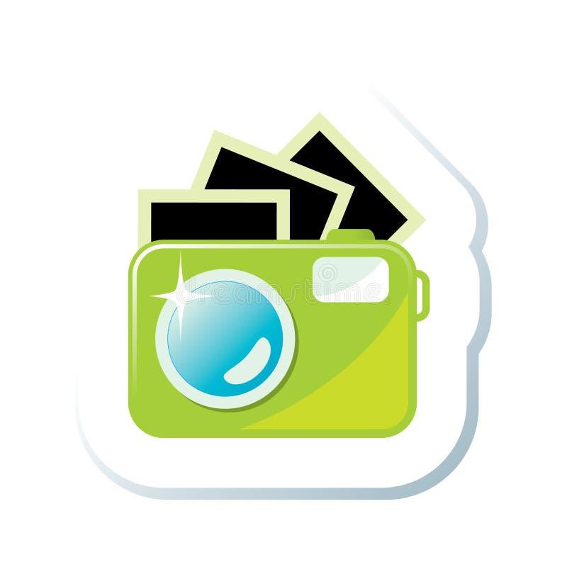 kamery ikona ilustracja wektor