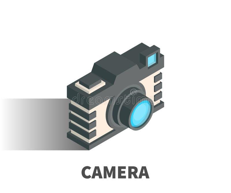 Kamery ikona, wektorowy symbol ilustracji