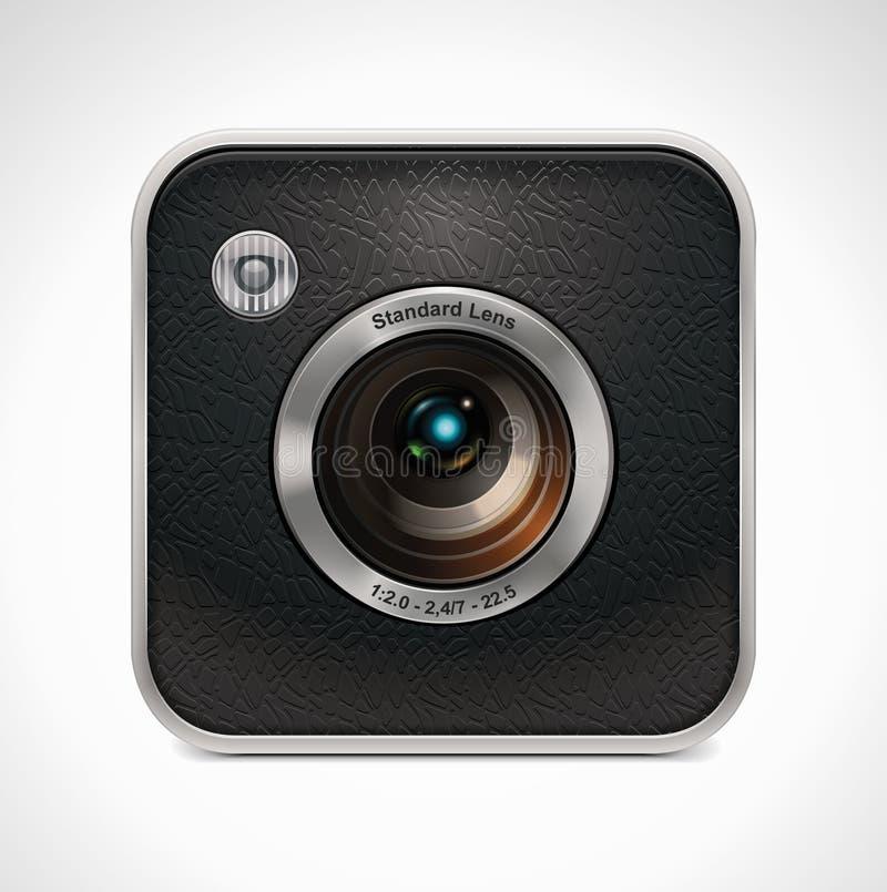 kamery ikony retro kwadrata wektor ilustracji