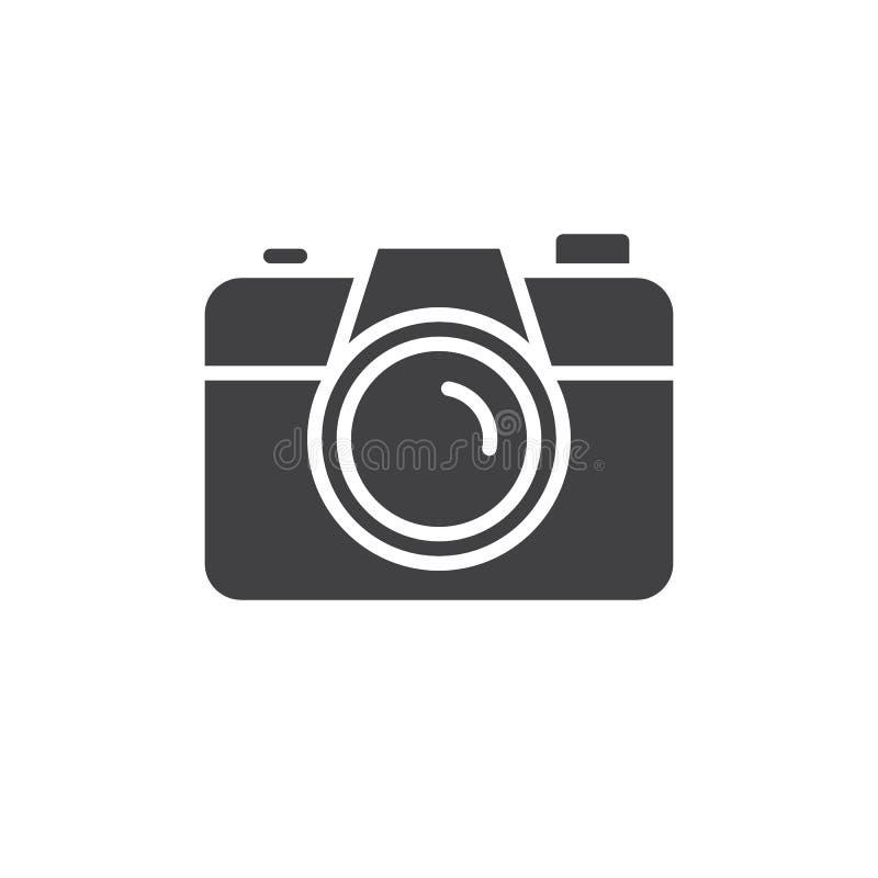 Kamery ikony wektor ilustracji