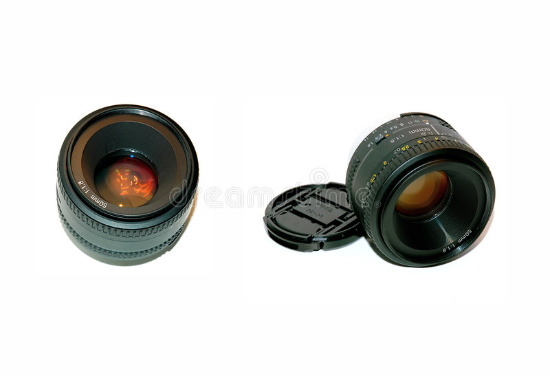 kamery lense obraz royalty free