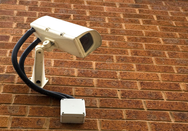 kamery nadzoru obrazy stock