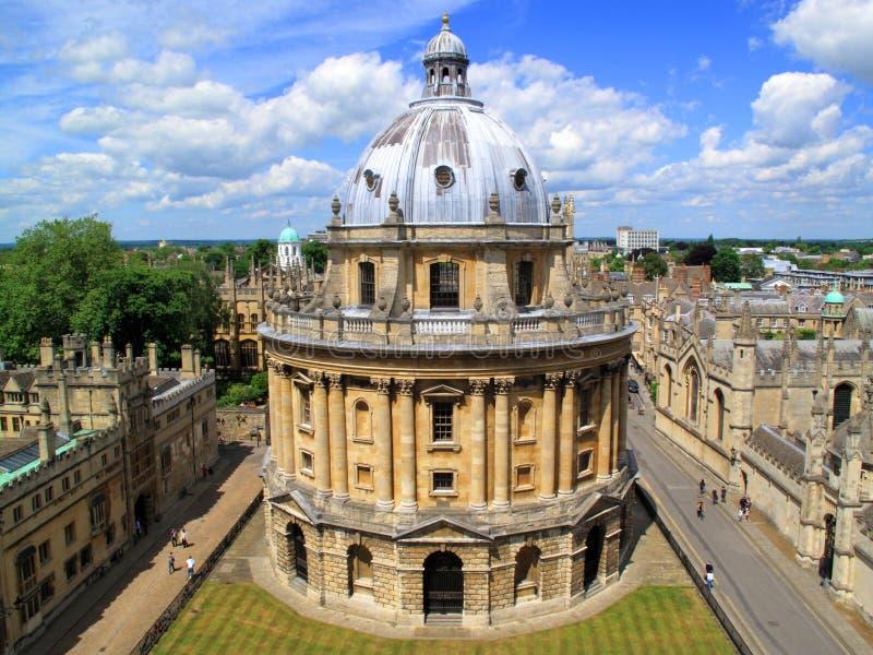 kamery Oxford radcliffe uniwersytet zdjęcia stock