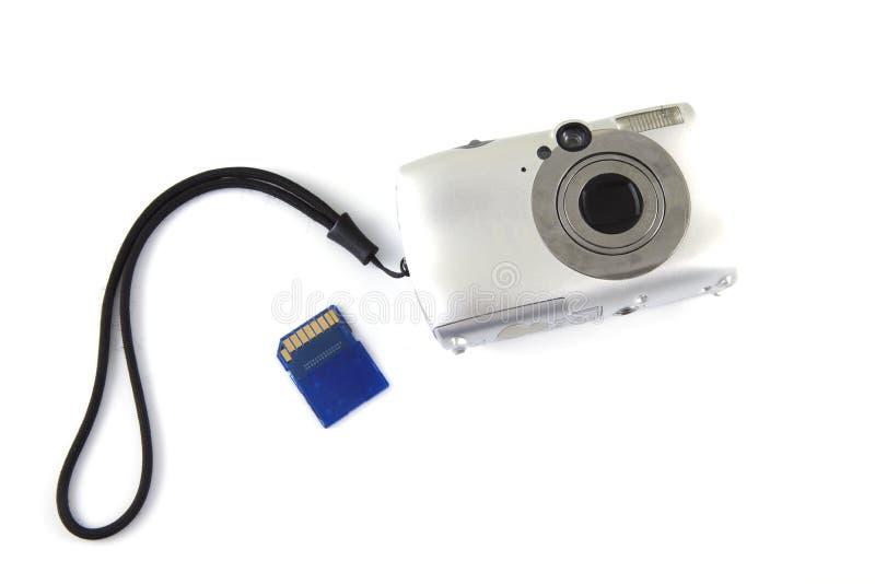 kamery pamięć karciana cyfrowa obrazy stock